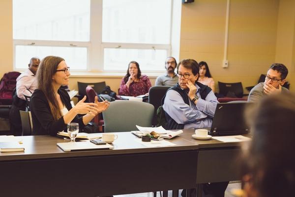 Workshop Participants Discuss Climate Change