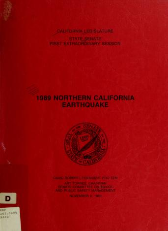 1989 Northern California earthquake by