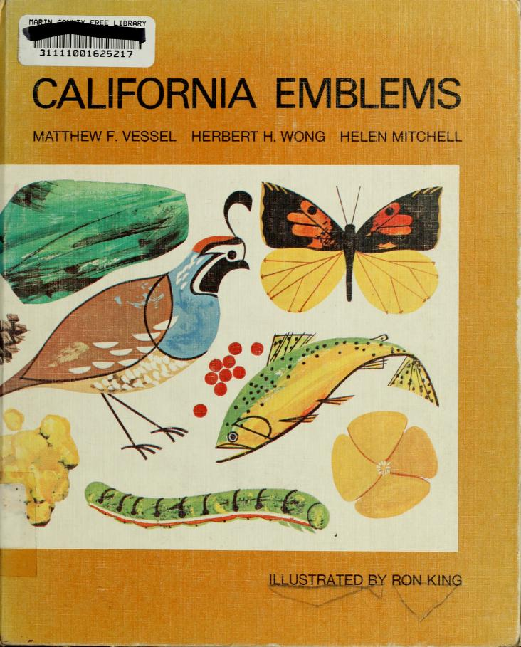 California emblems by Matthew F. Vessel