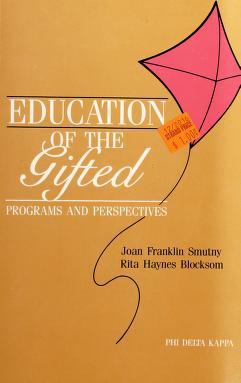 Cover of: Education of the gifted | Joan F. Smutny