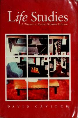 Cover of: Life Studies   David Cavitch