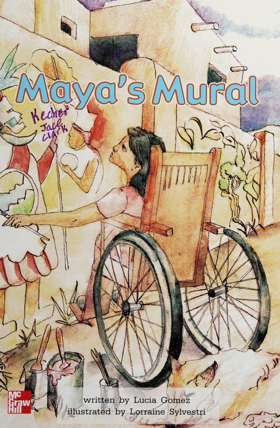 Maya's mural (McGraw-Hill reading) by Lucia Gomez