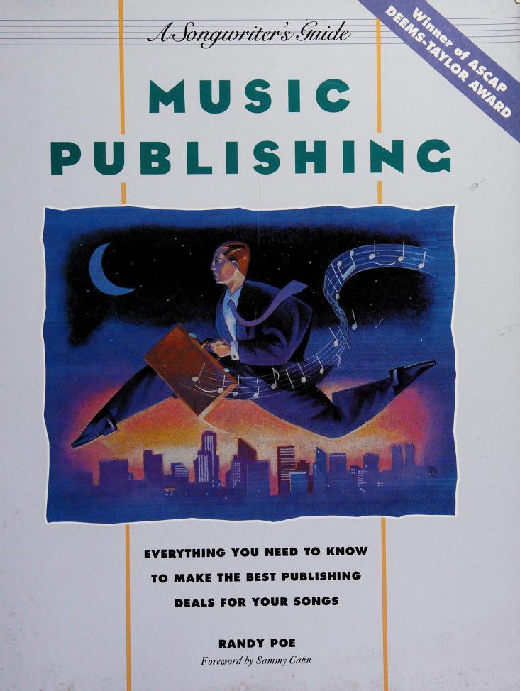 Music publishing by Randy Poe