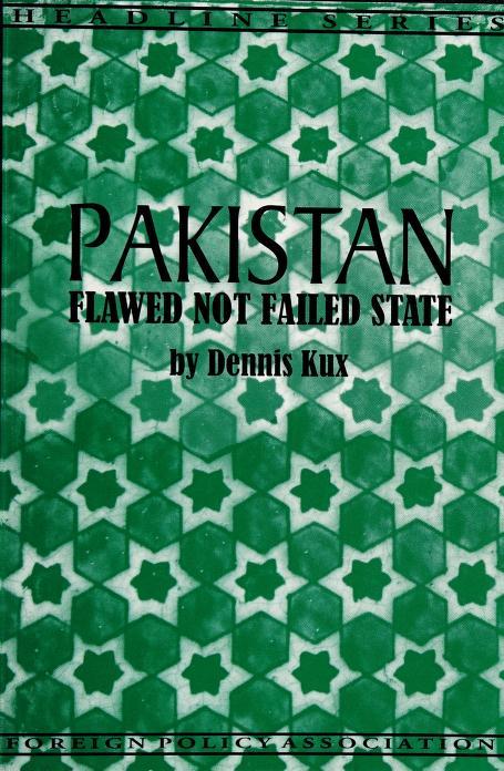 Pakistan by Dennis Kux