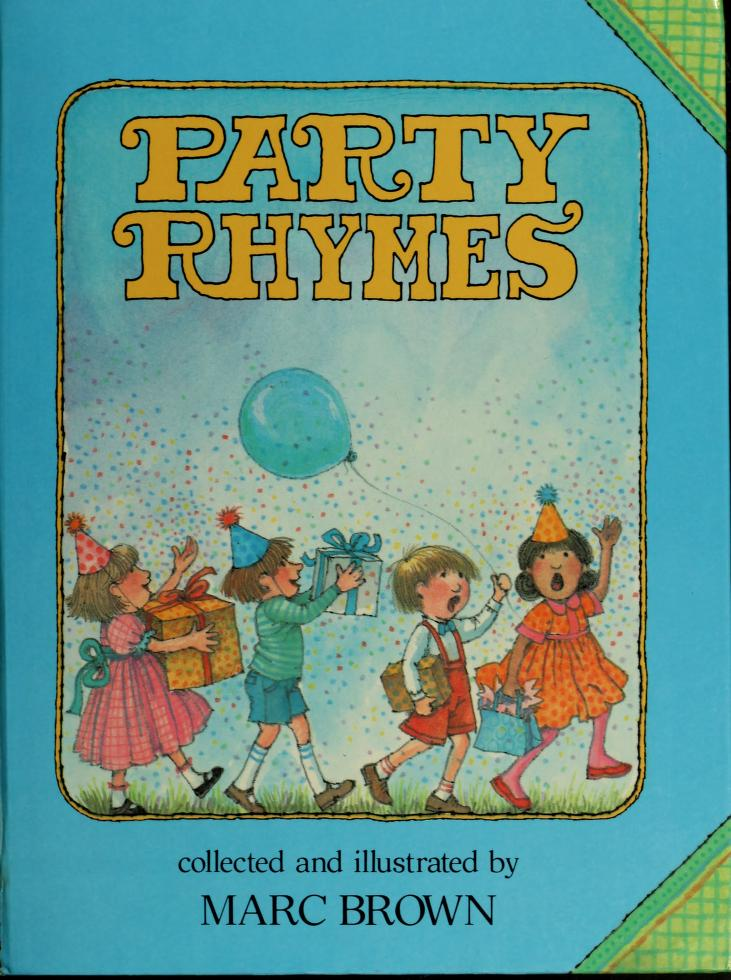 Party rhymes by Marc Tolon Brown