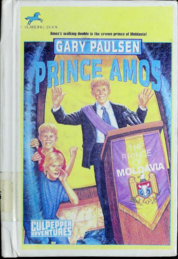 Cover of: Prince Amos | Gary Paulsen