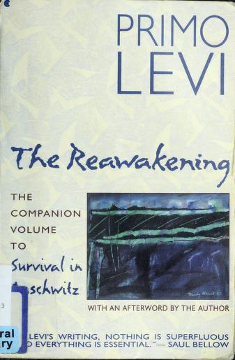 Cover of: The reawakening | Primo Levi