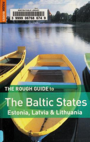 Cover of: The rough guide to the Baltic States | Jonathan Bousfield