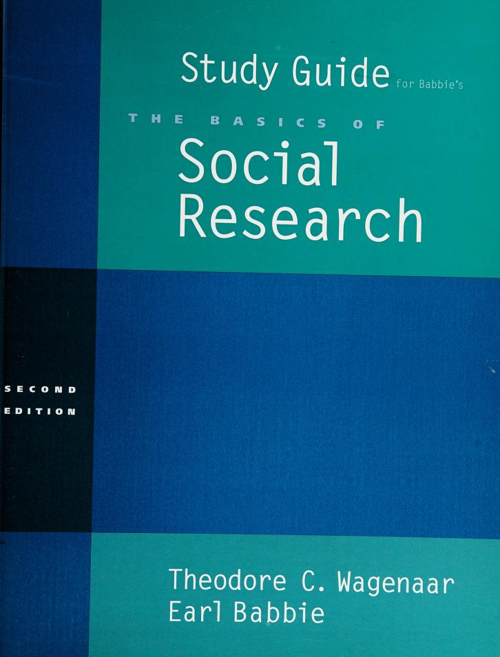 Study Guide for Basics of Social Research by Babbie